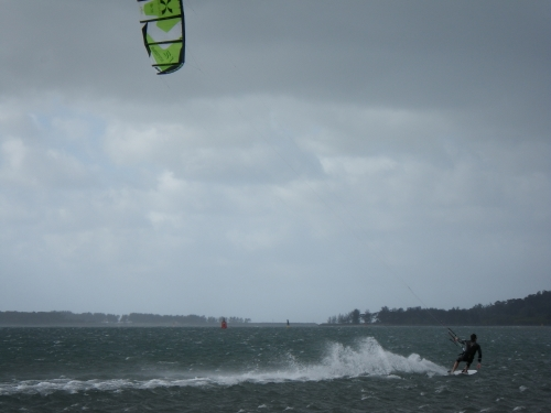 Kiting at Sand Bank in SSW